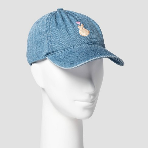 Women's To All The Boys 3 Hand & Heart Baseball Hat - Blue - image 1 of 2