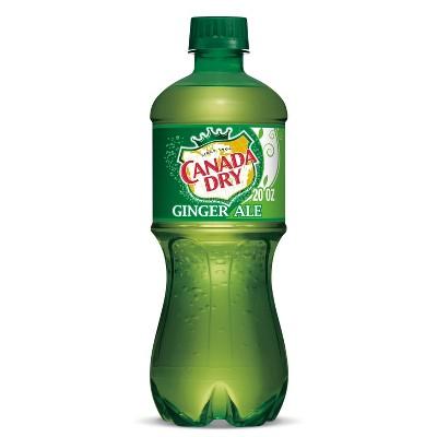 Canada Dry Ginger Ale Soda - 20 fl oz Bottle