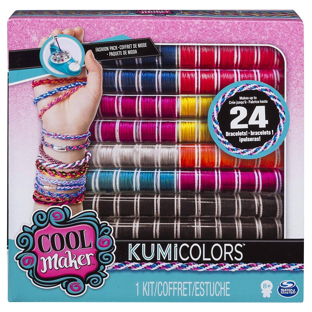 Cool Maker KumiColors Fantasy and Neons Fashion Pack activity kit