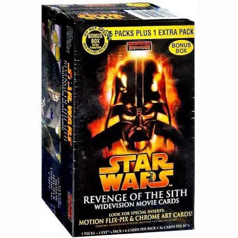 Star Wars Widevision Movie Revenge Of The Sith Trading Card Bonus Box Target