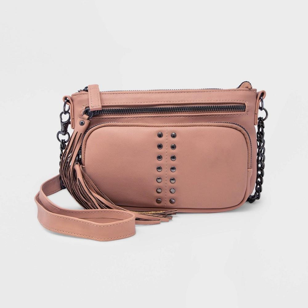 Image of Stella & Max Convertible Crossbody Bag - Blush Pink