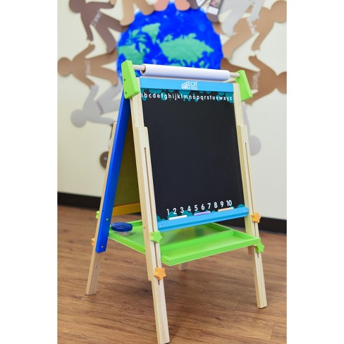 ECR4Kids 3-in-1 Premium Standing Adjustable Art Easel with Accessories for Kids - image 1 of 4
