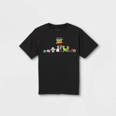 Boys' Toy Story Short Sleeve Graphic T-Shirt - Black