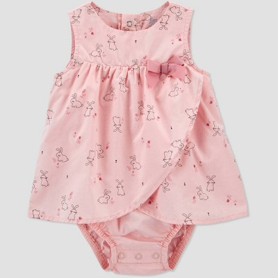 Baby Girls' Bunny Romper - Just One You® made by carter's Pink