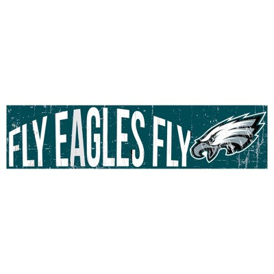 NFL Fan Creations 24 in. Slogan Wood Sign