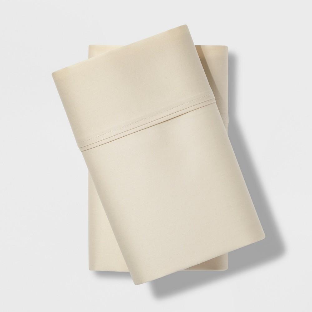 King 500 Thread Count Tri-Ease Pillowcase Set Cream (Ivory) - Project 62 + Nate Berkus