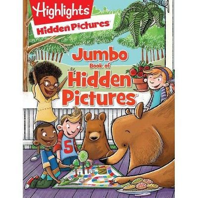 Jumbo Book of Hidden Pictures 10/15/2017 (Paperback) - by Highlights