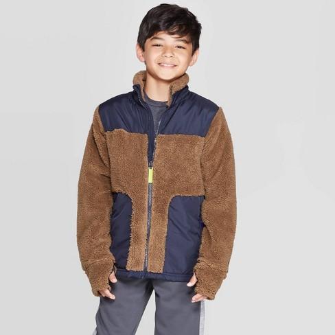 Boys' Modern Fleece Jacket - C9 Champion® - image 1 of 3