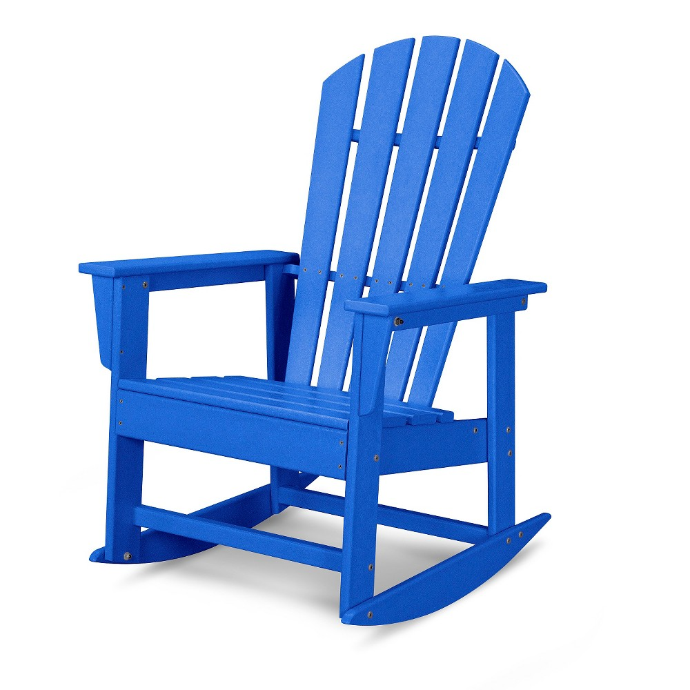 Polywood South Beach Patio Rocking Chair - Pacific Blue, Pac Blue