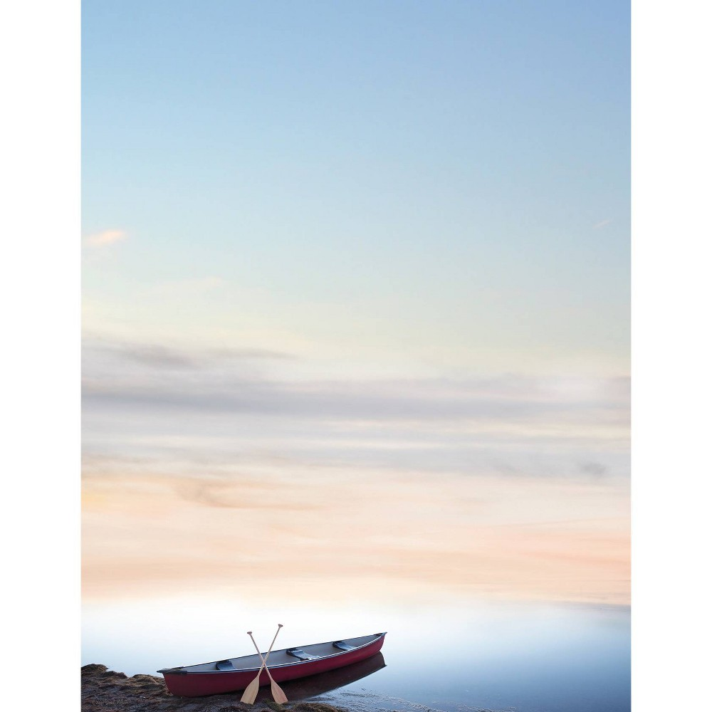 Image of 80ct Canoe Adventure Letterhead Blue