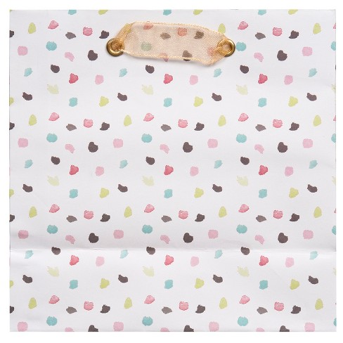 Water Color Dots Small Square Bag - Spritz™ - image 1 of 2