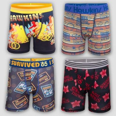 Boys' Stranger Things 4pk Underwear