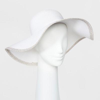 Women's Floppy Hat - A New Day™ White