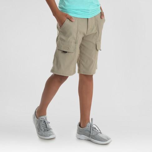5760769e2d Wrangler Boys' Explorer Cargo Shorts - Tan 10 : Target