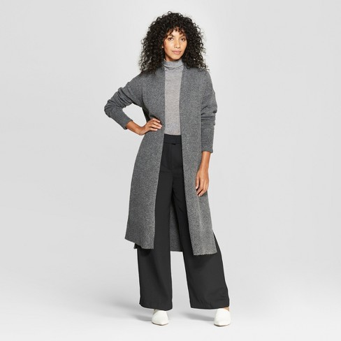 Women's Long Sleeve Cozy Cardigan - Prologue™ Gray - image 1 of 3