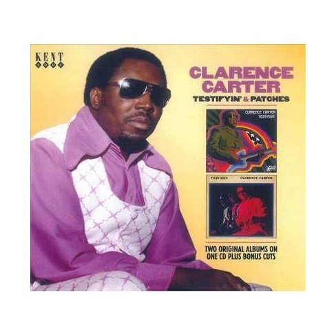Clarence Carter - Testifyin' & Patches (CD) - image 1 of 1