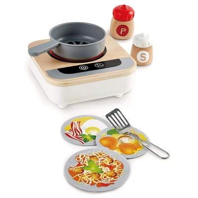 HAPE Fun Fan Fryer - Kitchen Playset for Preschoolers - for Magic Cooking Motion