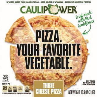 Caulipower Frozen Pizza Three Cheese - 10.9oz