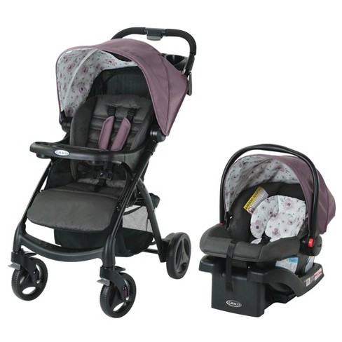 Graco Verb Click Connect Travel System with SnugRide Infant Car Sear - Gracie - image 1 of 4