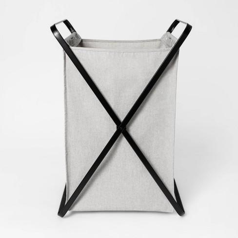 Folding X-Frame Matte Black - Made By Design™ - image 1 of 4