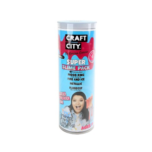 Karina Garcia 4pk Collectible Slime - Super Slimes by Craft City - image 1 of 4
