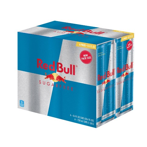 Red Bull Sugar Free Energy Drink - 6pk/8.4 fl oz Cans - image 1 of 1