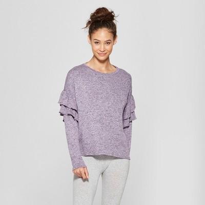ea7060438e Women s Cozy Lounge Sleep Sweatshirt – Xhilaration™ Purple XS ...