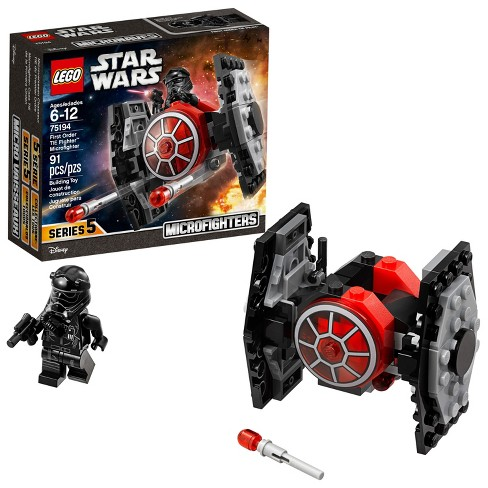 LEGO Star Wars™ First Order TIE Fighter™ Microfighter 75194 - image 1 of 6