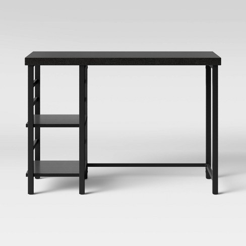 Adjustable Storage Desk Espresso Brown - Room Essentials™ - image 1 of 3