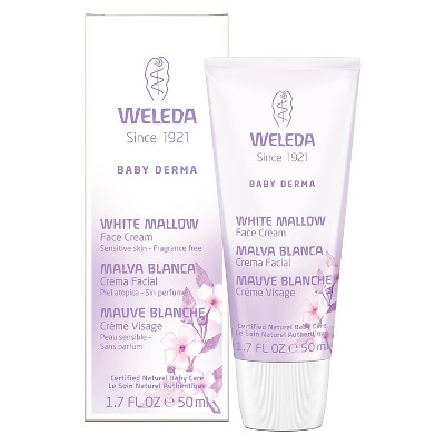 weleda white mallow face cream