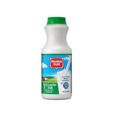Meadow Gold 1% Lowfat Milk - 1qt