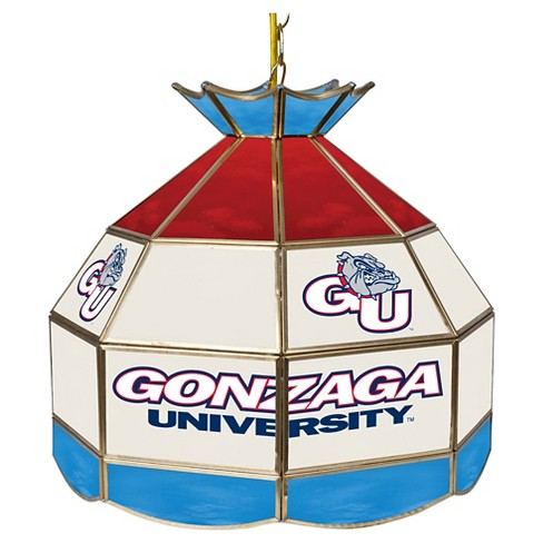 "NCAA Gonzaga Bulldogs Stained Glass Tiffany Lamp - 16"" - image 1 of 1"
