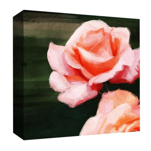 "Rose Inspiration I Decorative Canvas Wall Art 16""x16"" - PTM Images - image 1 of 1"