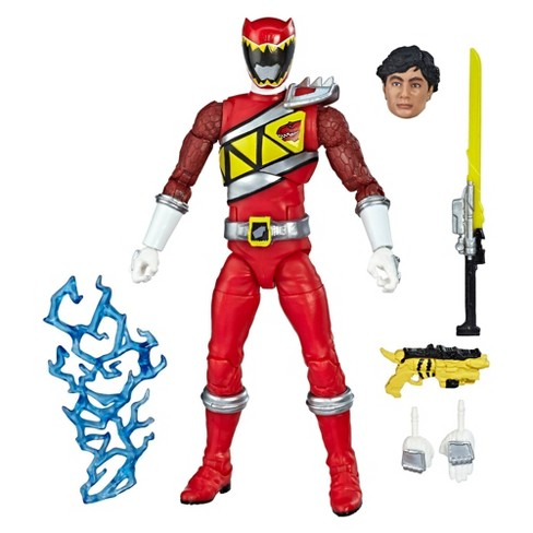 "Power Rangers Lightning Collection 6"" Dino Charge Red Ranger Collectible Action Figure - image 1 of 9"