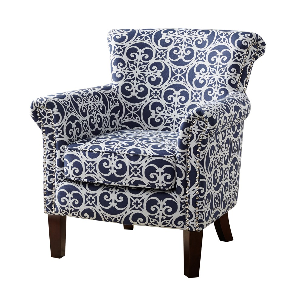 Accent Chairs Navy (Blue)