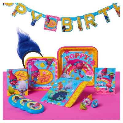 Trolls Kids Party Supplies Collection Target