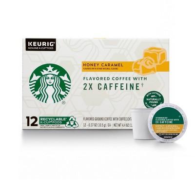 Starbucks KCup Cafe Honey Caramel Medium Roast 12ct - 4.4oz