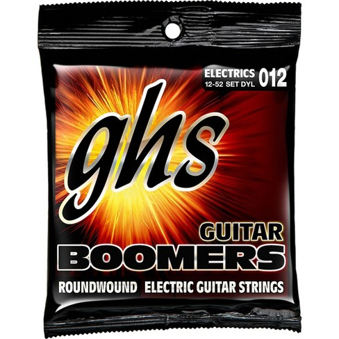 GHS DYL Boomers Light- Wound 3rd Electric Guitar Strings - image 1 of 1