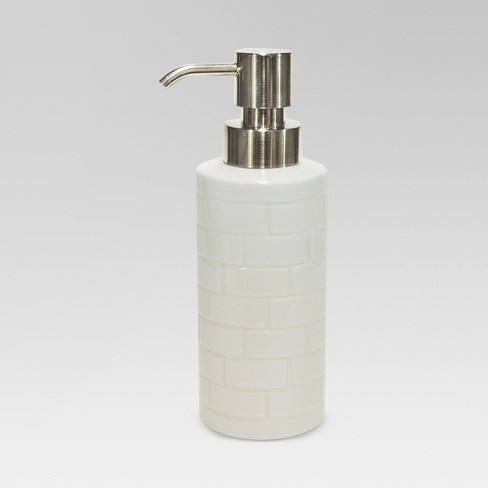 Tile Soap Pump White - Threshold™ - image 1 of 1