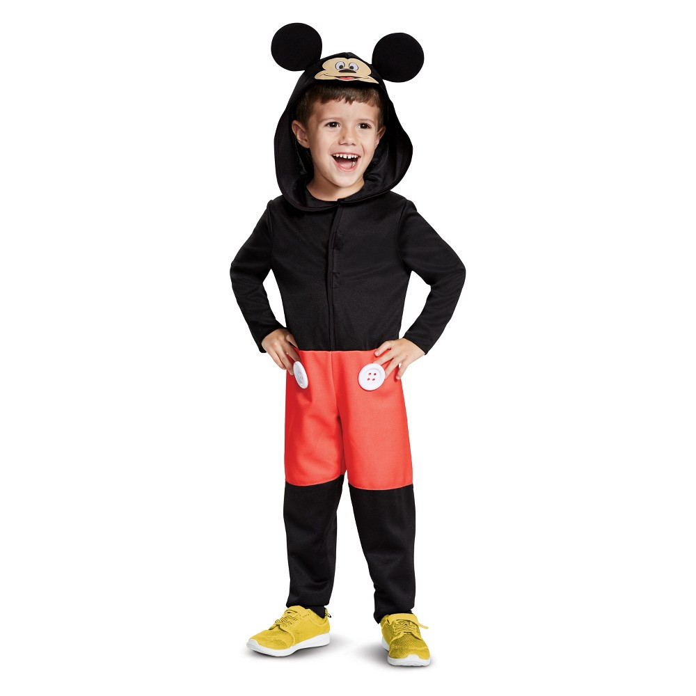 Toddler Mickey Mouse Halloween Costume 3T-4T, Toddler Boy's, Multicolored