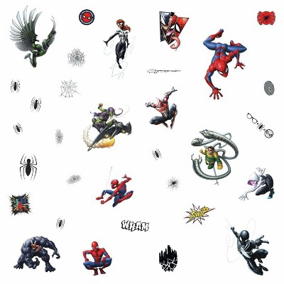 Spider-Man Favorite Characters Peel and Stick Wall Decals - RoomMates