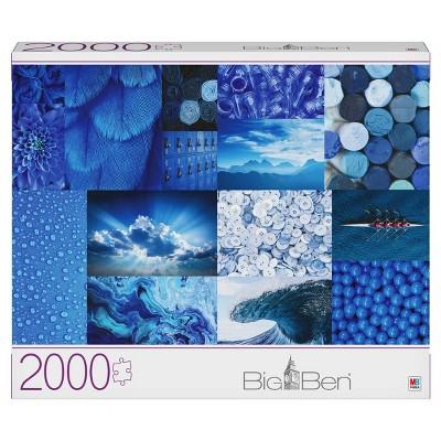 Milton Bradley Gray Board: Blues Jigsaw Puzzle - 2000pc