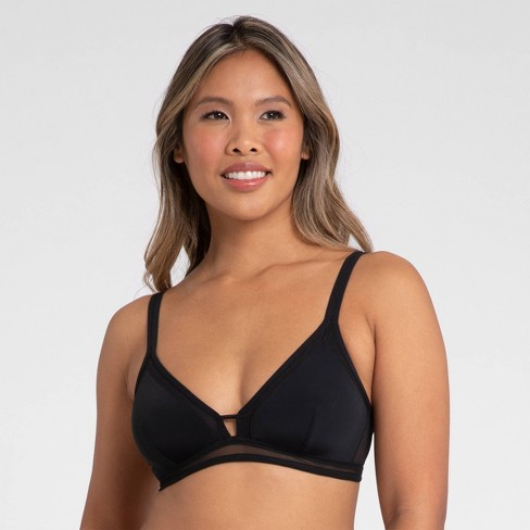 All.You. LIVELY Women's Mesh Trim Bralette - image 1 of 4