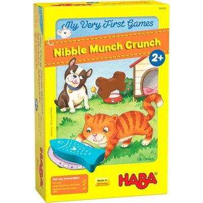HABA My Very First Games Nibble Munch Crunch (Made in Germany)