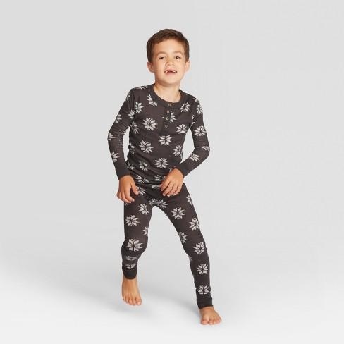 8b5ca5ba4a Kids Fair Isle Holiday Pajama Set- Gray 8 - Hearth   Hand™ with ...