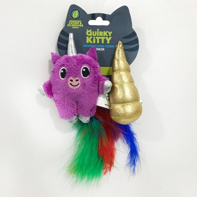 Quirky Kitty Unicorn Cat Toy