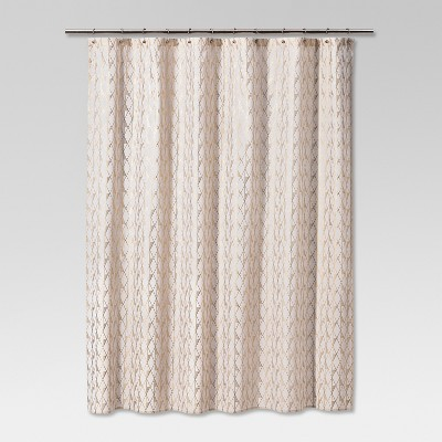 Diamond Shower Curtain Gold/Sour Cream - Project 62™