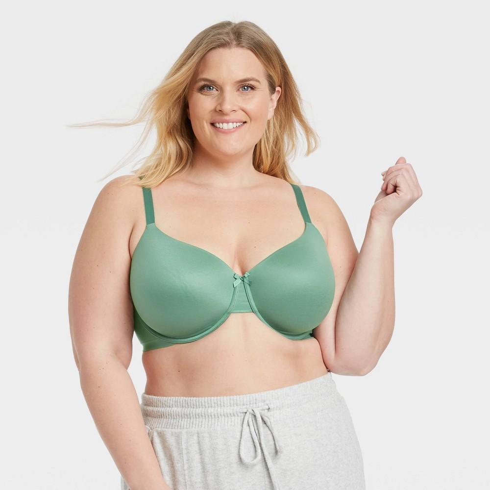 Women 39 S Plus Size Lightly Lined Demi Bra Auden 8482 Moss 44g