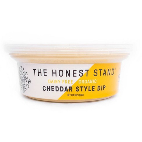 The Honest Stand Dairy Free Cheddar Dip - 9oz - image 1 of 4