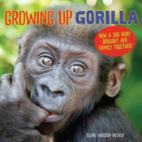 Growing Up Gorilla - by  Clare Hodgson Meeker (Hardcover) - image 1 of 1